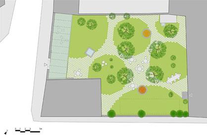 arch'it playgrounds / il piccolo giardino di calaf - Giardino Piccolo Progetto