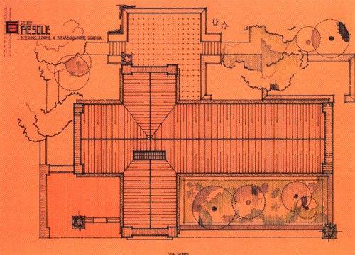 Frank lloyd wright fiesole 1910 cap 3 un progetto per for Frank lloyd wright casa della prateria